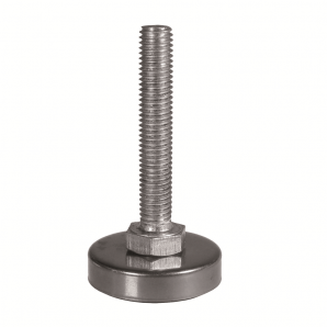 JTMG - Set screw with massive foot and stainless steel cover