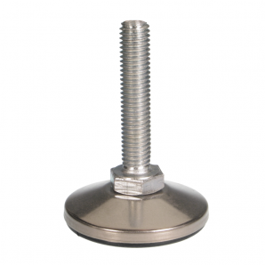 JTBBC - Set screw with polypropylene foot and stainless steel cover
